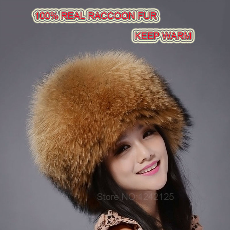 New autumn winter warm children fur hat women parent-child real raccoon hat with two tails Mongolia fur hat cute round hat cap princess hat skullies new winter warm hat wool leather hat rabbit hair hat fashion cap fpc018