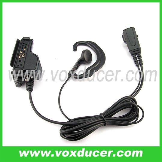 2-wire Mic earpiece For Motorola MT2000 HT1000 MTX1000 XTS3000 GP1200 Radio