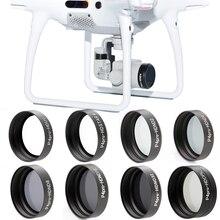 Neue ankunft ND2 ND4 ND8 ND16 ND32 CPL UV Stern Kamera Objektiv Filter für DJI Phantom 4 PRO 4PRO +