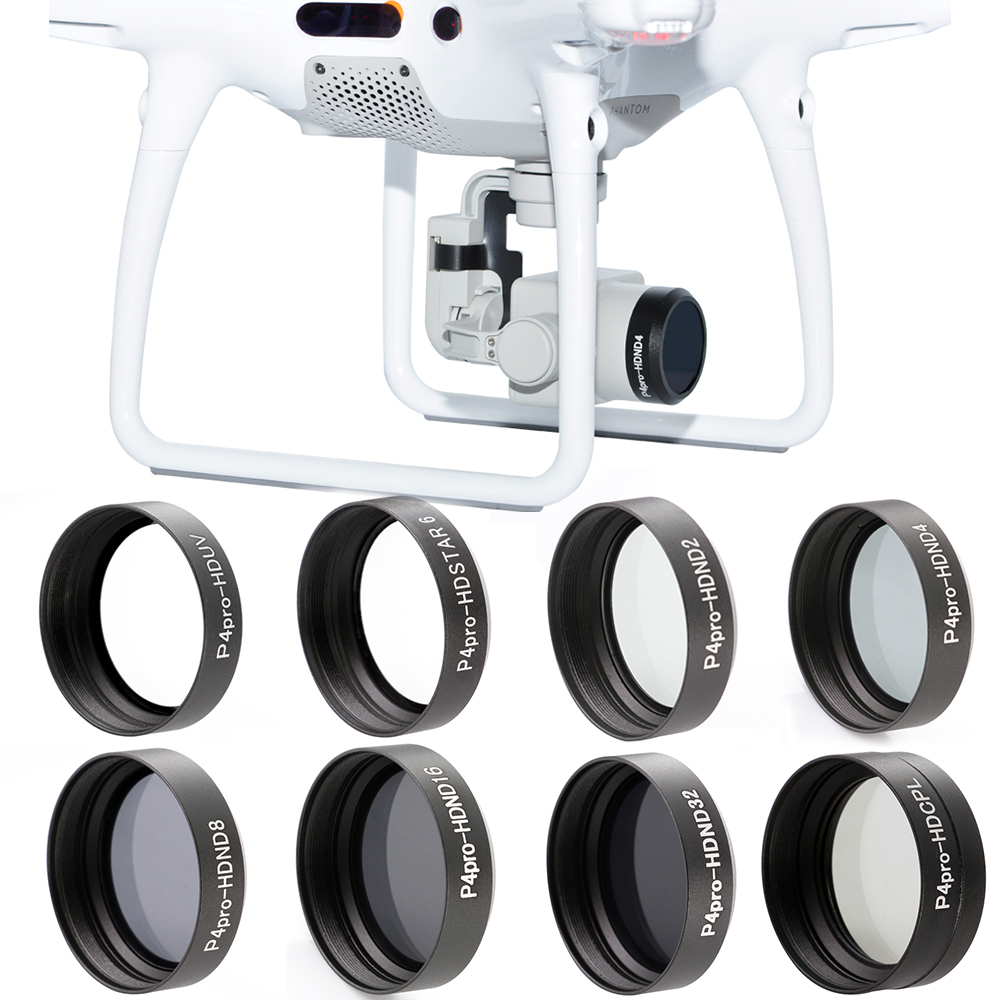 New arrival ND2 ND4 ND8 ND16 ND32 CPL UV Star Camera Lens Filter for DJI Phantom 4 PRO 4PRO+