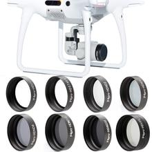 Nouveauté ND2 ND4 ND8 ND16 ND32 CPL filtre dobjectif de caméra étoile UV pour DJI Phantom 4 PRO 4PRO +