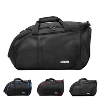 3 Colors Sports Bag Training Fitness Waterproof Travel Bag Shoulder Gym Bag With Shoes Compartment Sac