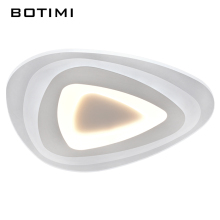 BOTIMI Modern Ceiling Lights For Kitchen Lamparas de techo With Dimming Remote Control Simple Bedroom Lamps Unique Lightings