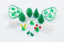 *Botanical Accessories pack* Plant brick pack  DIY enlighten block set No.40310 Compatible With Other Assembles Particles