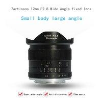7 ambachtslieden 12mm f/ultra groothoek micro enkele prime lens is geschikt voor de E Mount Eos-m Mount A6000, A6300, A6500, A7,