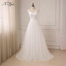 ADLN Robes De Mariage O-cou Dentelle Tul ...