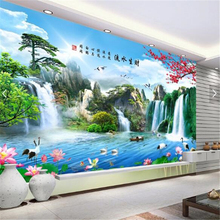 beibehang 3d custom photo wallpaper wall murals wall stickers Home and everythin