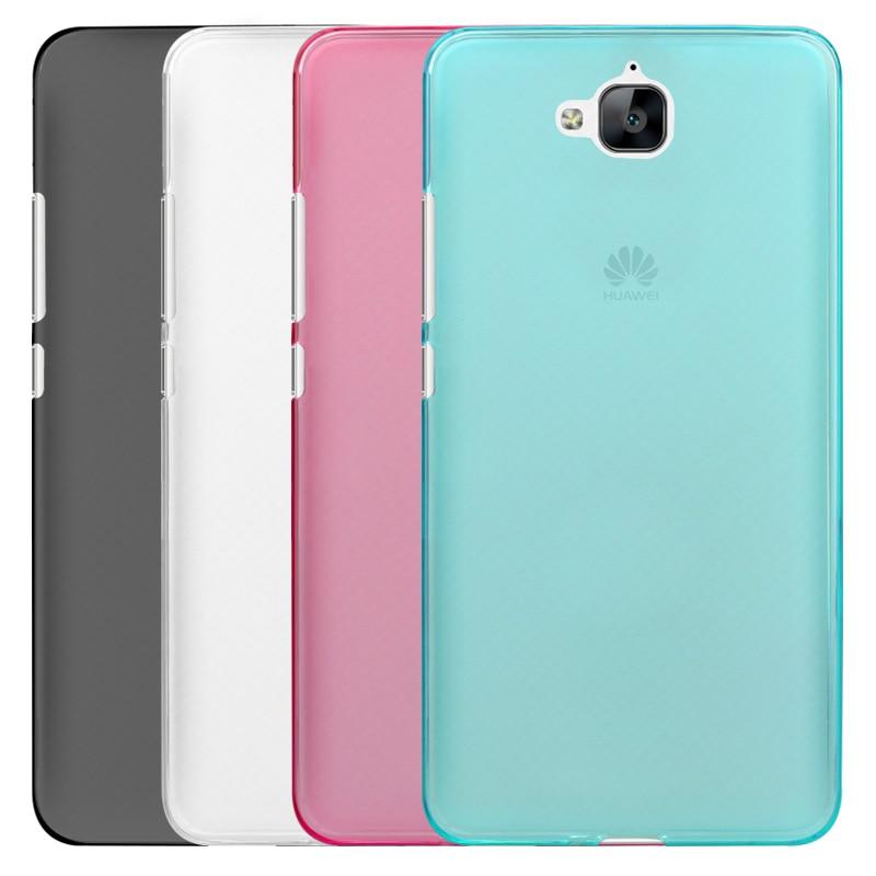 <font><b>4C</b></font> Pro Чехол 4 цвета ТПУ Мягкая задняя крышка телефона чехол для Huawei <font><b>Honor</b></font> <font><b>4C</b></font> Pro задняя крышка (5.0 дюймов)