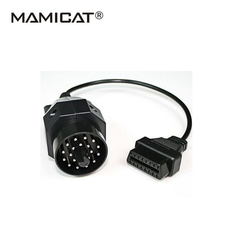 OBD2 20PIN to 16Pin Car Diagnostic Scanner Connector Cable For BMW 20 Pin