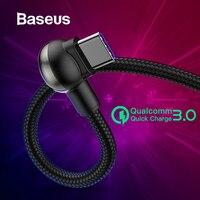 Baseus Supercharge usb type C кабель для huawei mate 20 10 Pro P20 Lite 5A супер зарядка USB C кабель Quick Charge 3,0 type-C кабель