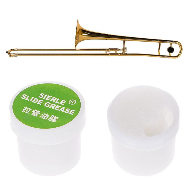 Купить с кэшбэком OOTDTY Trombone Trumpet Lubricate Slide Grease Clarinet Brass Instruments Maintain Tool