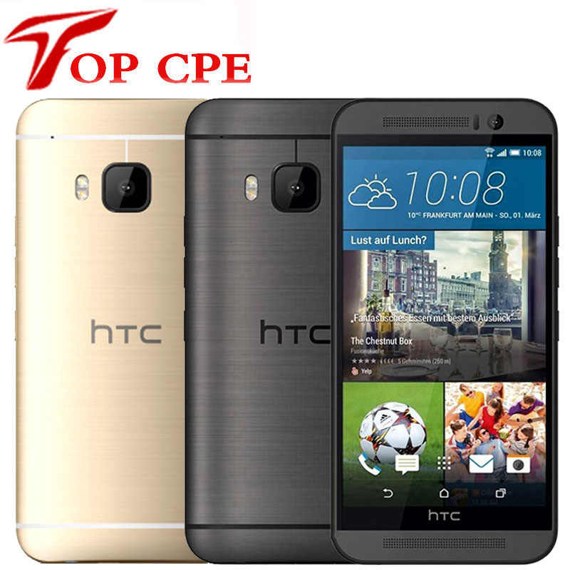 "HTC One M9 Original débloqué GSM 3G 4G Android Octa core RAM 3 GB ROM 32 GB 5.0 ""WIFI GPS 20MP 1080 P 32 GB téléphone portable Smatphone"