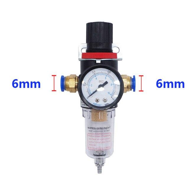 AFR2000 Air Filter Regulator Compressor  Oil water separation with 6mm Fitting