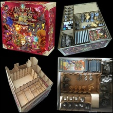 ARCADIA QUEST INFERNO Card Game Storage Box Organizer for Wooden Receiving Compact Case The Broken Token Laser Cutting