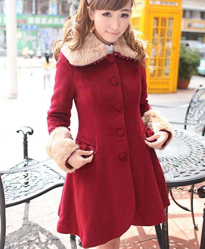 Girls Long Winter Dress Coats Promotion-Shop for Promotional Girls ...