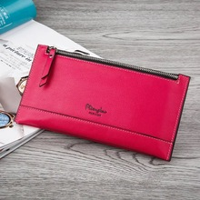 цены на Long Style Zipper Purse  leather hand bag more women multi-functional wallet for credit card bag long wallet  в интернет-магазинах