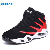 2017 Winter Boots Men Sneakers Unisex Running Shoes Warm Sport Shoes Trainers Boy Walking Shoes Zapatillas