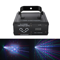 DMX RGB DJ laser light 2D high brightness party light Disco music equipment professional stage effect club beam show light