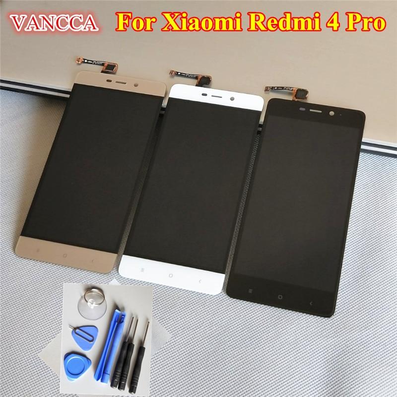 imágenes para Reparación de alta Calidad Para Xiaomi Redmi 4 Pro Pantalla LCD y la Pantalla Táctil Digitalizador Reemplazo Asamblea Para Hongmi Teléfono 4 Pro