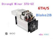 Neue Asic SCC XSC Miner StrongU Miner STU-U2 6TH/S Mit NETZTEIL Blake2B Besser Als Antminer A3 Innosilicon S11
