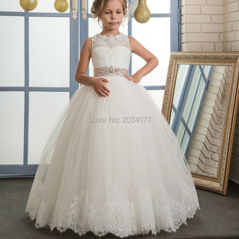Dresses For Girls 10 12 Prom Dress Childern Abiti Comunione