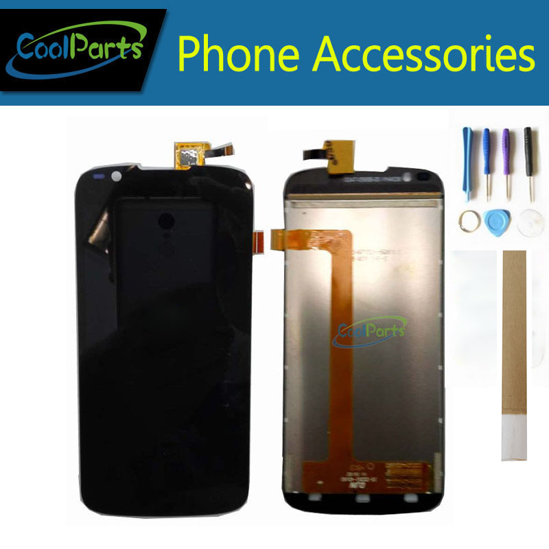 1PC/Lot High Quality For Fly IQ4413 LCD Display Screen +Touch Screen Digitizer Assembly Replacement Part Black Color +Tape&Tool