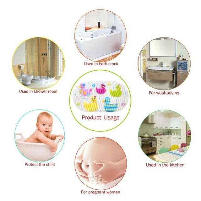 Anti Slip Bath Mat for Baby