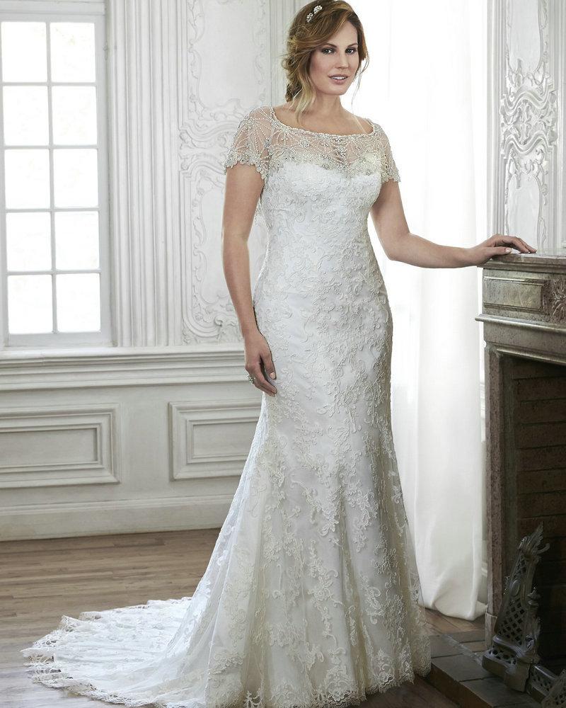 Big Wedding Dress With Sleeves