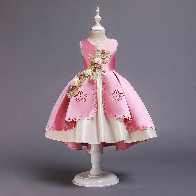 HTB18m.cX8r0gK0jSZFnq6zRRXXaP Girls Dress Christmas Kids Dresses For Girls Party Elegant Princess Dress For Girl Wedding Gown Children Clothing 3 6 8 10 Years