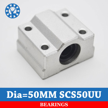 SCS50UU Linear Ball Bearing XYZ Table CNC Router Motion XYZ Slide Block Unit For 50mm Linear Shaft