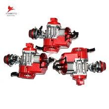 3pcs 49cc engine with improved cylinder/piston/carburetor/ air filter of mini dirt bike  KXD LIYA HIGHPER  NITRO SSR 30RACING