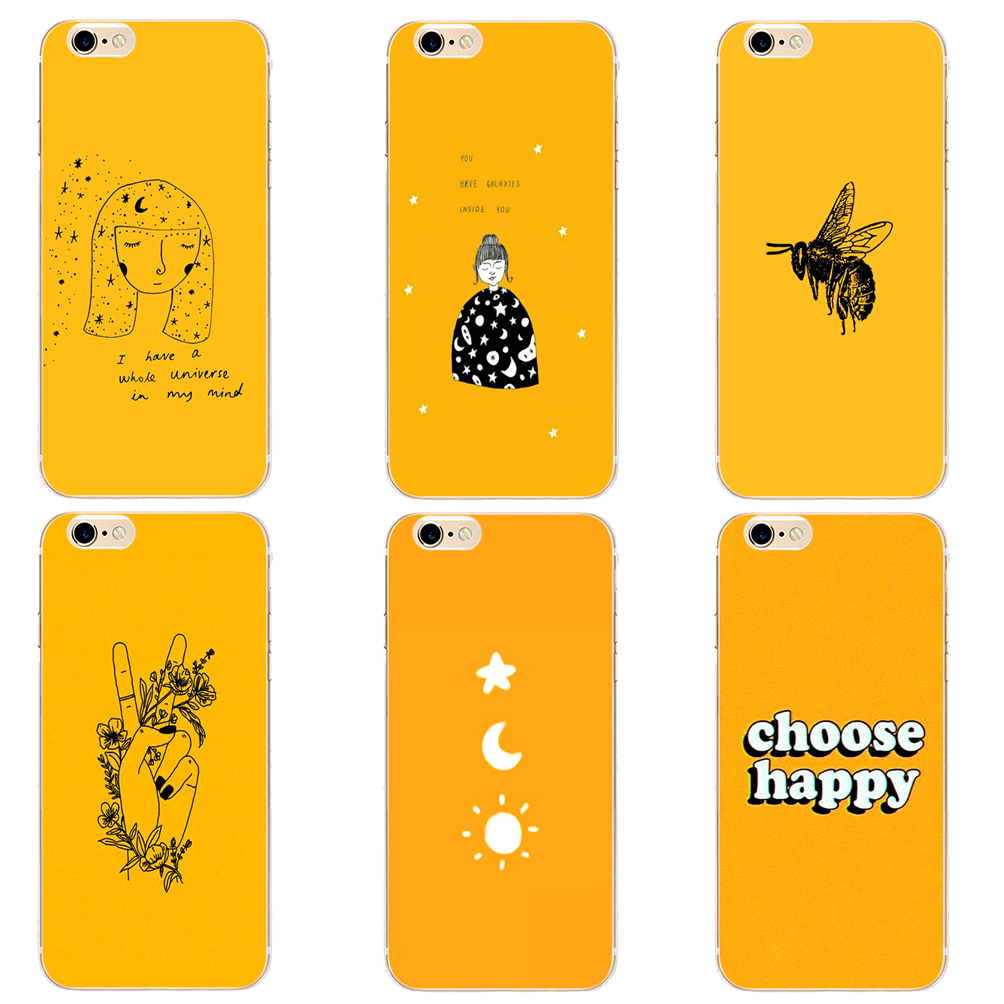 DK Yellow Aesthetic Art Pretty lovely fashion phone case