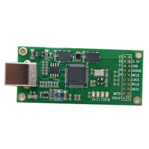 Image 2 - Lusya XU208 Xmos USB דיגיטלי אודיו ממשק U8 שדרוג אסינכרוני Amanero מודול עבור Hifi מגבר A3 003