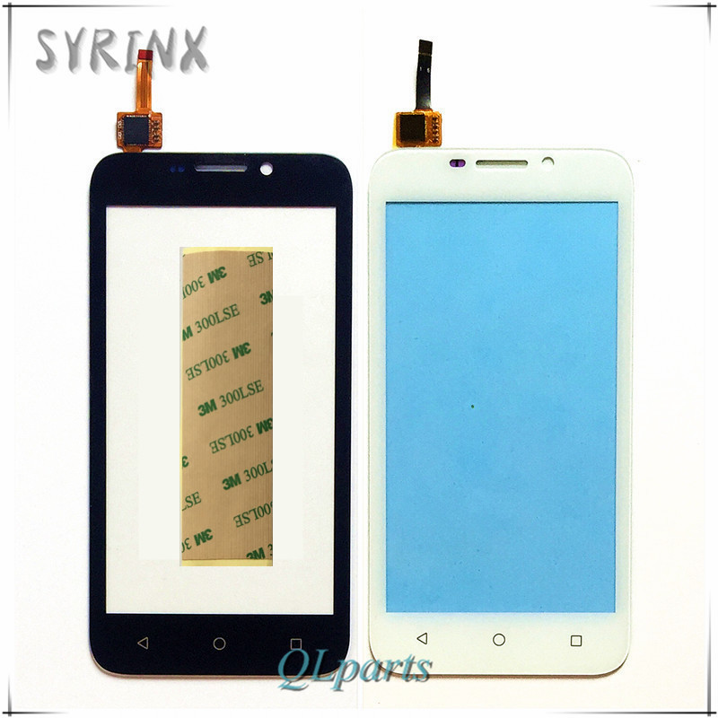 Syrinx + 3M Tape Accessories & Parts Touchscreen Sensor Touch Screen Digitizer Panel For Micromax Bolt Q379 Front Glass Lens
