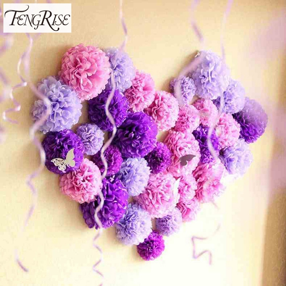 5pcs 20cm tissue paper pom poms wedding decoration artificial 5pcs 20cm tissue paper pom poms wedding decoration artificial flowers balls crafts kids party supplies in party diy decorations from home garden on izmirmasajfo