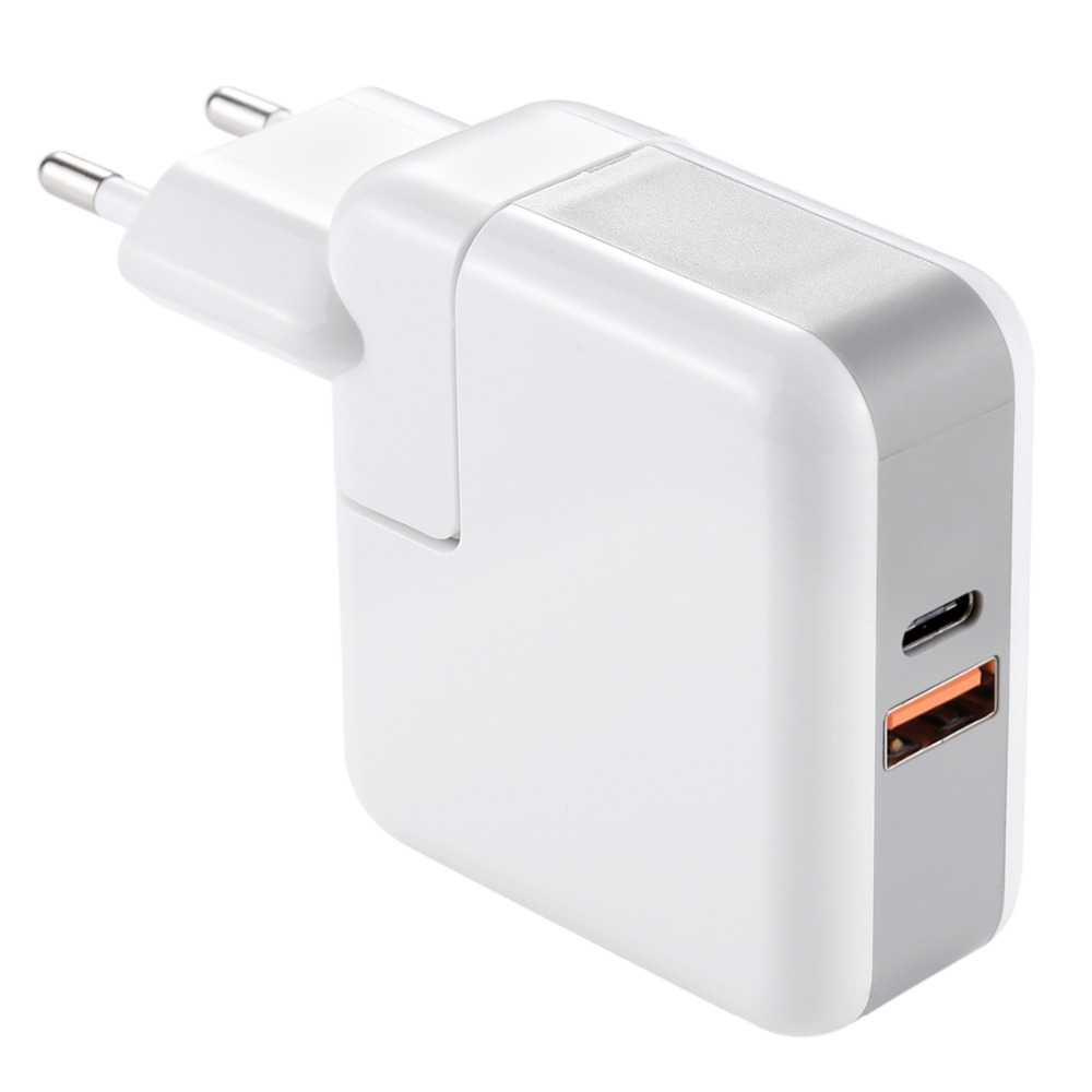 YC-0019 AC90-240V/QC3.0/3A/EU Plug/USB 29W USB-C/Type-C Quick Charger Power Adapter,for xiaomi huawei p20