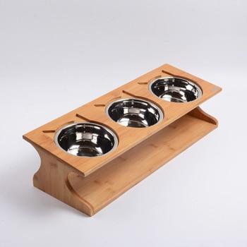 Solid Wood Anti-slip Bowls