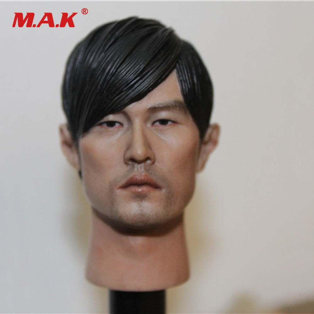 1/6 Scale Asia Star Singer Male Head Sculpt Model Toys Jay Chou Head Carving for 12 Inches Action Figure Fans Collection Gift hot toys 1 6 the avengers star lord 2 0 chris pratt head sculpt man head carving fit for 12 male action figure body accessory