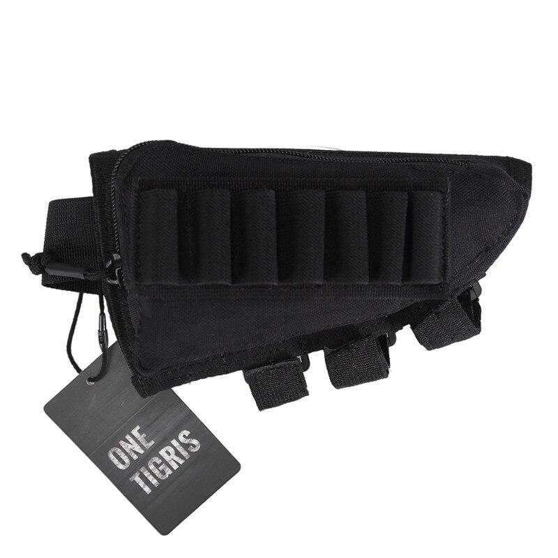 Onetigris Tactical Buttstock Shotgun Rifle Stock Ammo Portable Pouch