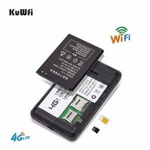 Image 5 - Unlocked 150 Mbps 4G Router Wifi 3G 4G Lte Wireless Mobile Hotspot แบบพกพารถ Wi   Fi Router จอแสดงผล LCD ซิมการ์ดสล็อต