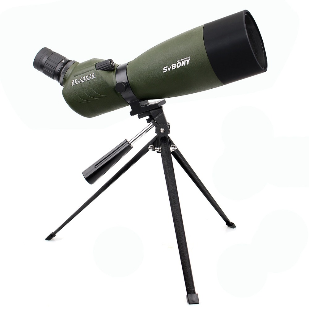 SVBONY Spotting Scope 20-60x60 / 25-75x70mm Zoom telescoop BAK4 - Jacht - Foto 2