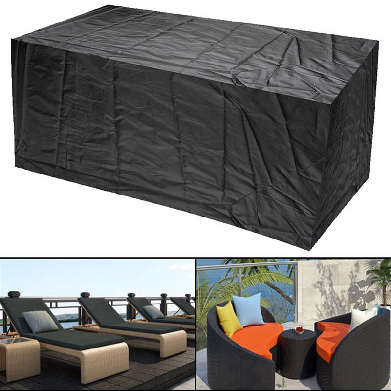 Home & Garden Household Merchandises The Cheapest Price Convenient Useful Rectangular Garden Patio Rain Dust Cover Outdoor Waterproof Sofa Table Chair Bench Furniture Cover @ls Ja04