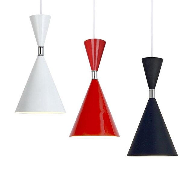 LED Moderne lampes suspendues Cuisine Pendentif Lampes En Aluminium