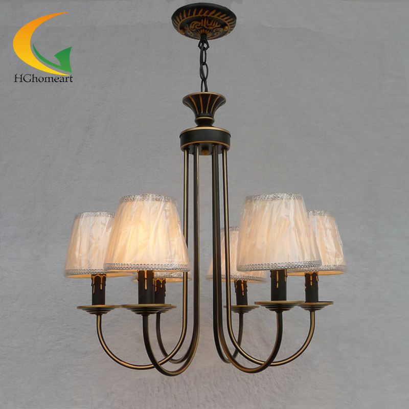 Continental Iron candle chandelier bedroom led light garden bar ceiling lights restaurant lights lamps continental iron candle chandelier bedroom garden bar restaurant lights retro clothing store america
