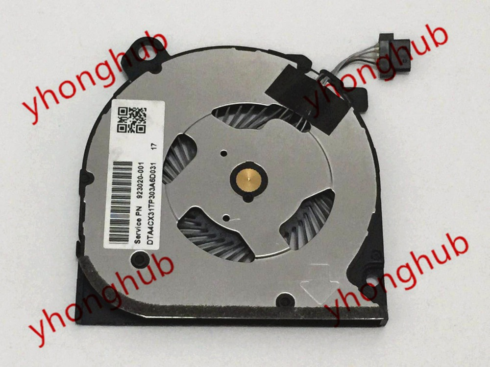 Delta Electronics ND55C05 910375-001 923020-001 Server Cooling Fan DC 5V 4-wire