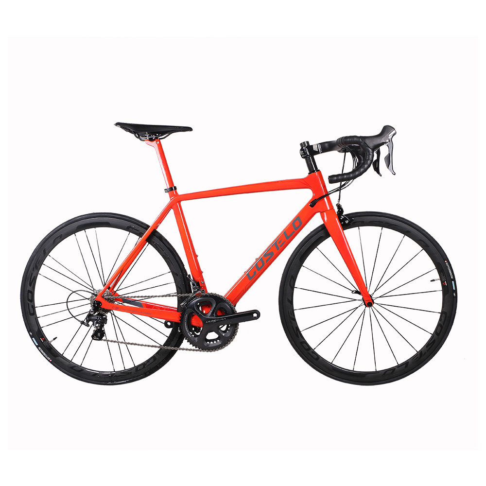 2017 Costelo Carbon Fiber Road Bike Frame Torch Thermochromic Carbon Bicycle Frame Color Change 48 50