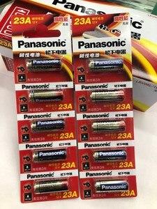 10 шт./лот новый оригинальный Panasonic 23A 23A 12V Ультра щелочные батареи/батареи сигнализации A23