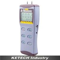 Az 8230 цифровой манометр Электронный воздушный Давление метр