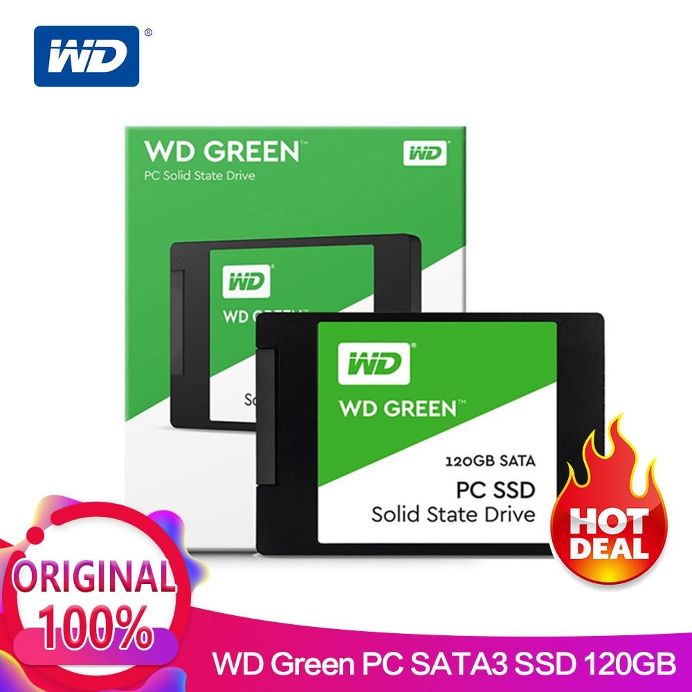 Western Digital WD SSD GREEN PC 120GB 240GB Internal Solid State Drive laptop Internal Sabit Hard Disk SATA 6GB/s for Laptop