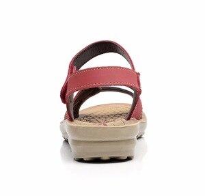 Image 3 - GKTINOO Sommer Frauen Sandalen Komfortable Damen Schuhe Strand Gladiator Sandale Frauen Casual Flache Sandalen Mode Schuh